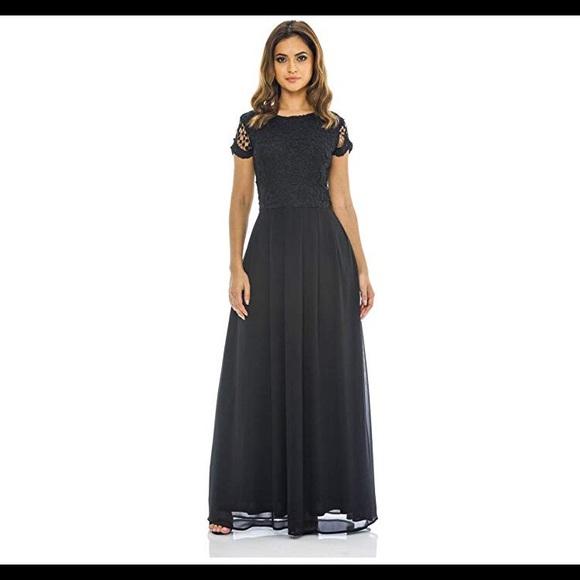 338fb0e1e2 AX Paris Dresses | Black Evening Maxi Dress | Poshmark
